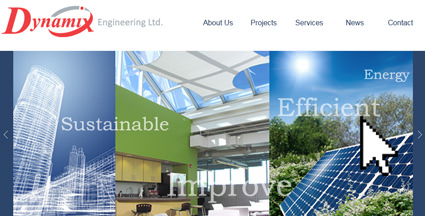 Dynamix Engineering Website